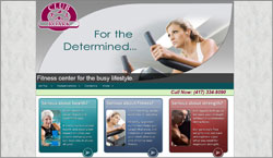 Health and Fitness Web Site Design